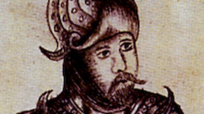 Portrait d'Erik le Rouge tiré de la Gronlandia d'Arngrímur Jónssonn