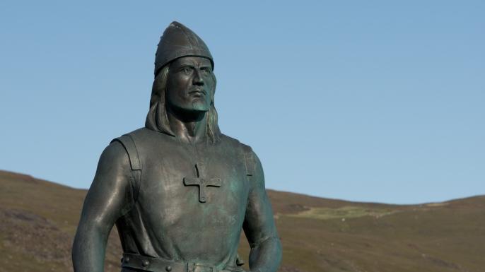 Statue de Leif Ericson à Qassiarsuk, Groenland
