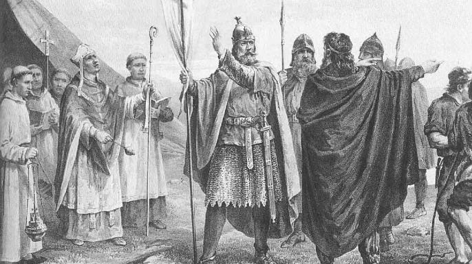 Olaf Tryggvason: forçant les Viking au Christianisme