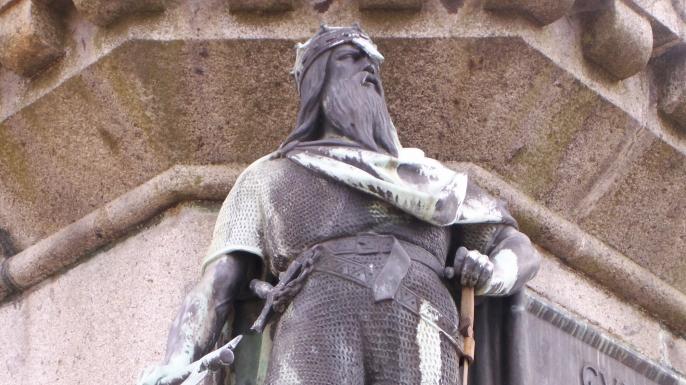 Statue de Rollon,àFalaise