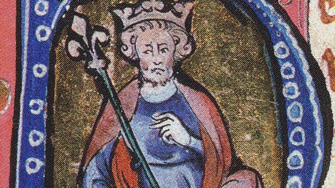Un portrait du 14ème siècle de Knut le Grand